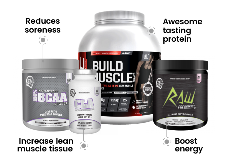 .Build - Muscle Growth & Recovery