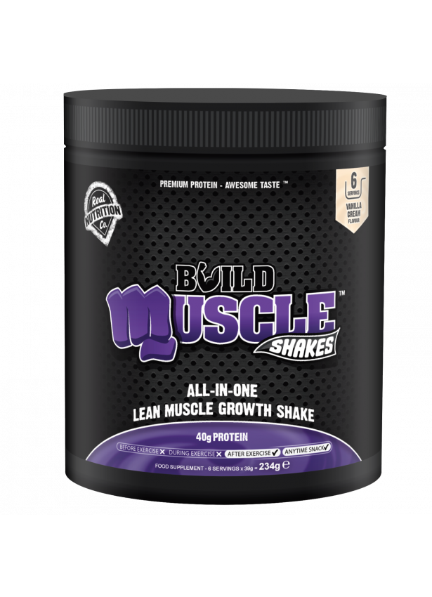 Muscle Shakes Build Mini Jar