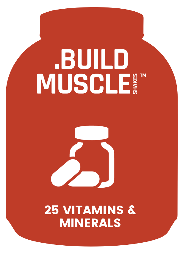Muscle Shakes Build - 25 Vitamins & Minerals