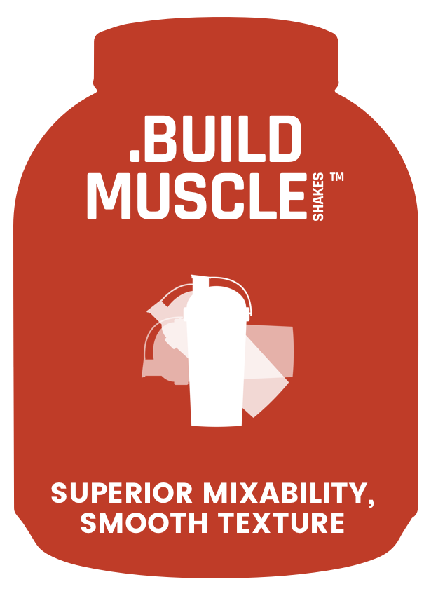 Muscle Shakes Build - Superior Mixability, Smooth Texture