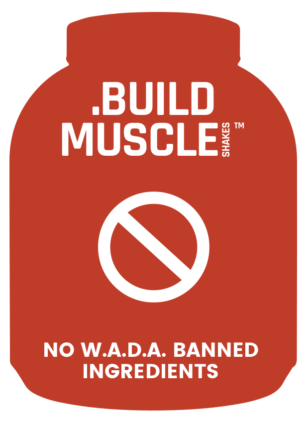 Muscle Shakes Build - No WADA Banned Ingredients