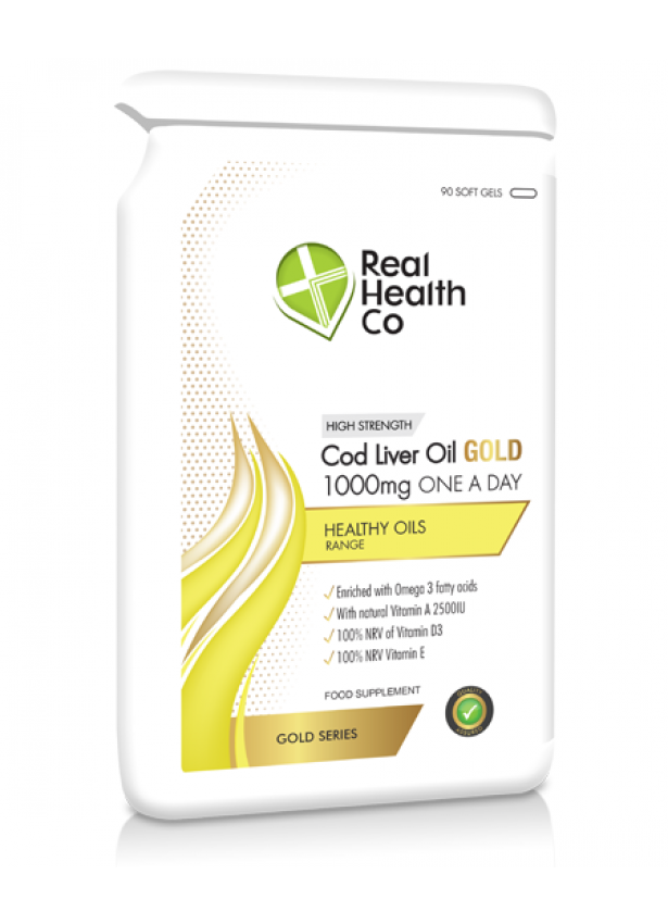 Cod Liver Oil GOLD 1000mg