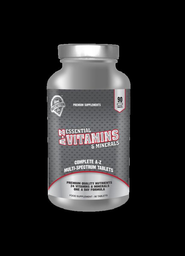 A-Z Essential Vitamins & Minerals