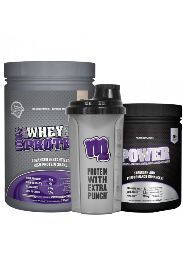 Whey Protein - Power Creatine HCl Matrix