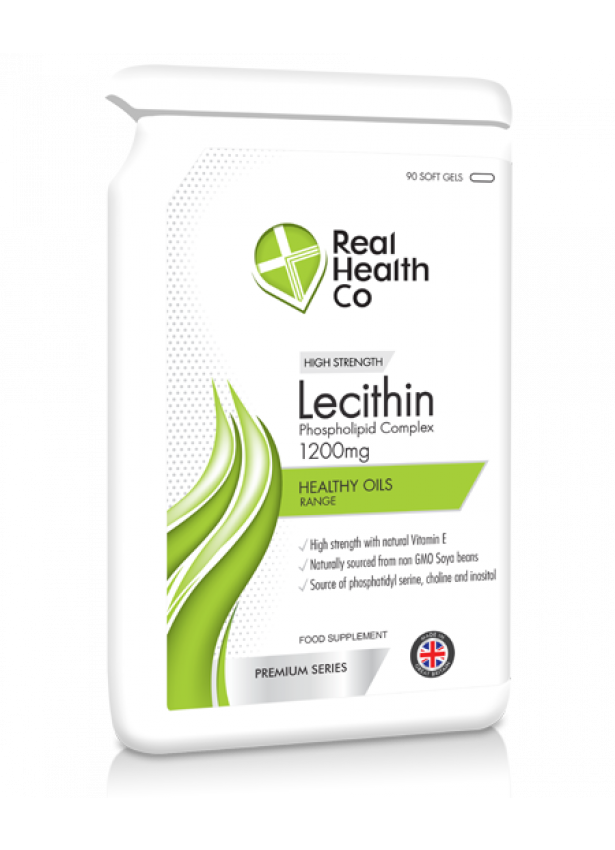 Lecithin 1200mg + Vitamin E