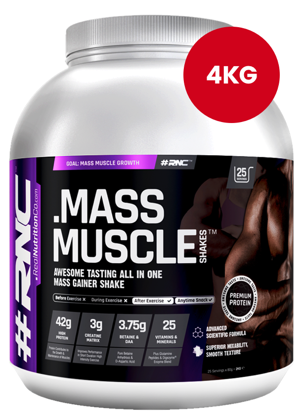 Muscle Shakes MASS | All In One Protein | 4kg tub