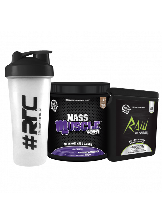 Muscle Shakes MASS Starter Pack