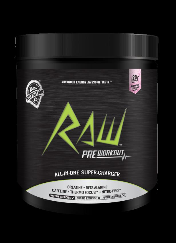 RAW Pre Workout 180g