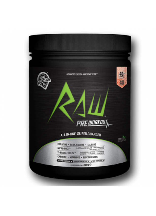 RAW Pre Workout Drink