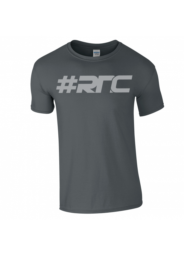 #RNC Logo Charcoal T-shirt