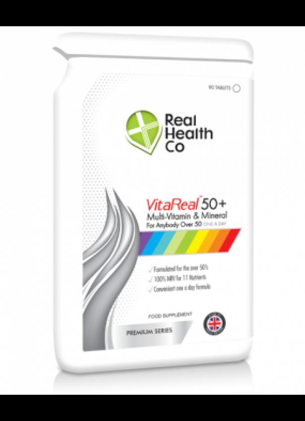 VitaReal™ 50+ Multi-Vitamin & Mineral