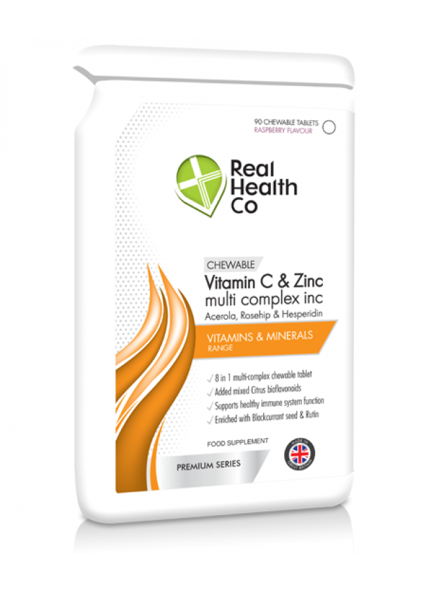 Vitamin C & Zinc multi complex Chewable Tablets
