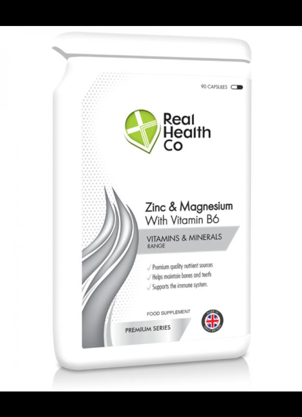 ZMA Zinc, Magnesium & B6 Complex Capsules