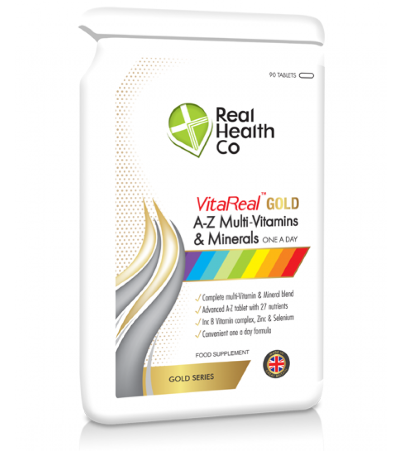 Vitareal Gold A Z Multi Vitamin Mineral Tablets Real Nutrition Co