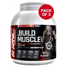 3 x MUSCLE SHAKES BUILD | ALL IN ONE PROTEIN | 1.87KG JAR