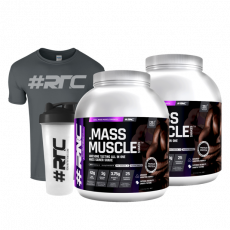 Mass Muscle 4kg Combo