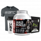 Muscle Shakes™ BUILD™ 1.87Kg, Thermo-Pre, T-shirt & Shaker Bundle