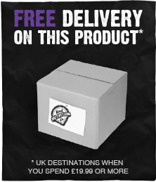 free delivery over £19.99 to UK mainland