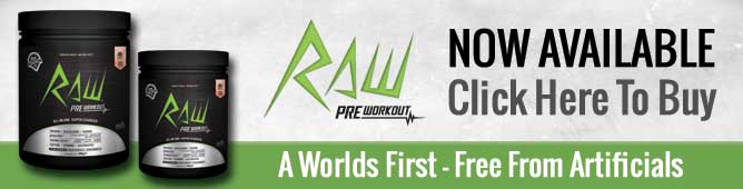 Buy RAW Pre-Workout NOW