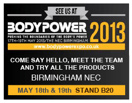 See Us At Bodypower